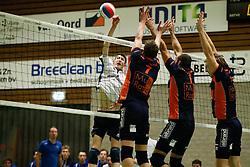20170125 NED: Beker, Sliedrecht Sport - Seesing Personeel Orion: Sliedrecht<br />Ian de Bus (7) of Sliedrecht Sport<br />&copy;2017-FotoHoogendoorn.nl / Pim Waslander