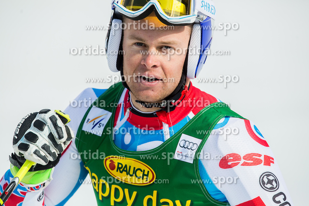 PINTURAULT Alexis of France in finish area during Men Giant Slalom race of FIS Alpine Ski World Cup 54th Vitranc Cup 2015, on March 14, 2015 in Kranjska Gora, Slovenia. Photo by Vid Ponikvar / Sportida