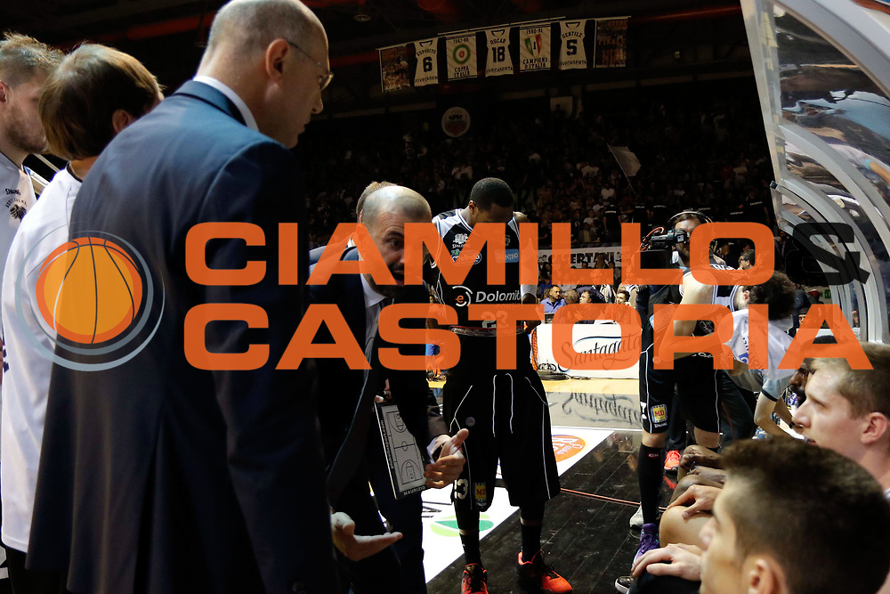 Caserta 04.05.2016<br /> Basket Serie A<br /> Pasta Reggia Caserta - Dolomiti Energia Trento<br /> <br /> Nella foto: Maurizio Buscaglia
