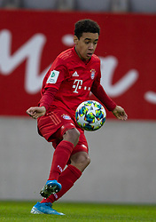 MUNICH, GERMANY - Wednesday, December 11, 2019: Bayern Munich's Jamal Musiala during the final UEFA Youth League Group B match between FC Bayern München and Tottenham Hotspur at the FC Bayern Campus. (Pic by David Rawcliffe/Propaganda)