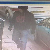 """Police Scotland is appealing for information regarding a robbery at the Bank Of Scotland, High Street, Dunkeld that took place around 1125 hours, Tuesday 29th November 2016.<br /> Officers believe that the man shown in the attached images may have information that will assist them with their investigation and would ask him or anyone who recognises them to contact them.<br /> He is described as being white with fair eyebrows, 20 - 30, about 5""""9 or 5""""10, medium build, wearing a black hooded top with a red or orange design on the front and blue jeans. He is understood to have a Perthshire accent.<br />Picture by Graeme Hart.<br />Copyright Perthshire Picture Agency<br />Tel: 01738 623350  Mobile: 07990 594431"""