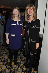 Left to right, JOANNA PAGE and KATE GARRAWAY at a party to celebrate the publication of Zita West's book - Your Pregnancy Consultant held at China Tang, Park Lane, London on 6th December 2012.