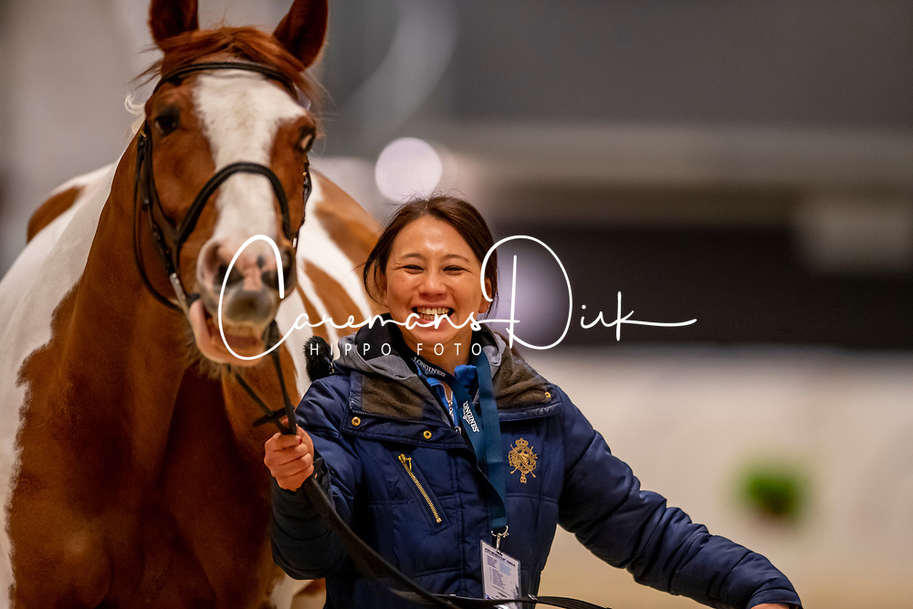 Hirota Shino, JPN, Life is Beautiful<br /> LONGINES FEI World Cup™ Finals Gothenburg 2019<br /> © Dirk Caremans<br /> 02/04/2019