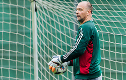 31.05.2016, Steinbergstadion, Leogang, AUT, UEFA Euro, Frankreich, Vorbereitung Ungarn, Training, im Bild Gabor Kiraly (HUN) // Hungarian national team player Gabor Kiraly during a training session at the Trainingscamp of Team Hungary for Preparation of the UEFA Euro 2016 France at the Steinbergstadion in Leogang, Austria on 2016/05/31. EXPA Pictures © 2016, PhotoCredit: EXPA/ JFK