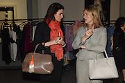 PORTIA WHITE; ADA HARTE, The Arthur Cox Irish Fashion Showcase 2015,  Irish based designers chosen to be part of this year's Arthur Cox Irish Fashion Showcases The Mall Galleries, London. 13 May 2015.
