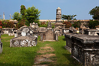 dutch cemetery of cochin in Kerala state indi