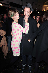 PIXIE GELDOF and Louis Simonon at a party to celebrate the launch of Lulu & Co held at the Fifth Floor Cafe, Harvey Nichols, Knightsbridge, London on 21st October 2010.