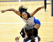 Sunbelt Volleyball Match 5 - Middle Tennessee vs North Texas (Nov 18 2011)