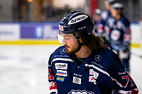 2020-01-22   Kallinge, Sweden: Krif hockey (79) Olicer Celec during the warming up before the game between Krif hockey and Halmstad Hammers at Soft Center Arena (Photo by: Jonathan Persson   Swe Press Photo)<br /> <br /> Keywords: kallinge, Ishockey, Icehockey, hockeyettan, allettan södra, soft center arena, krif hockey, halmstad hammers (Match code: krhh200122)