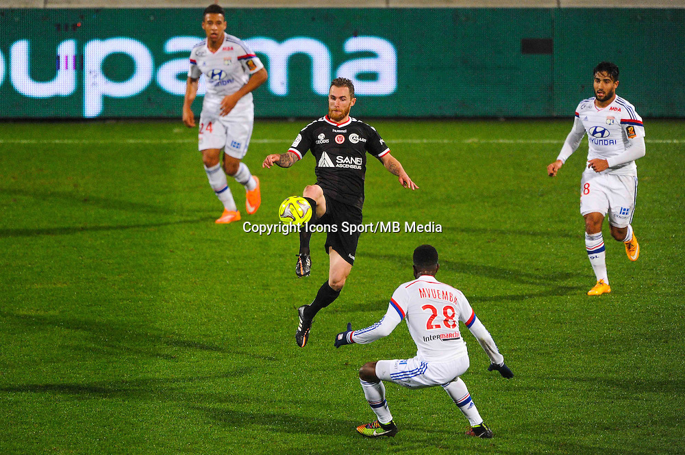 Antoine DEVAUX  - 04.12.2014 - Lyon / Reims - 16eme journee de Ligue 1  <br /> Photo : Jean Paul Thomas / Icon Sport