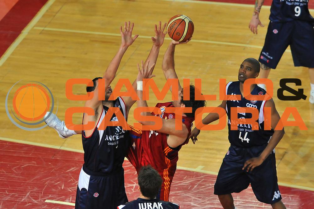 DESCRIZIONE : Roma Lega A 2008-09 Playoff Quarti di Finale Gara 1 Lottomatica Virtus Roma Angelico Biella<br /> GIOCATORE : Angelo Gigli<br /> SQUADRA : Lottomatica Virtus Roma<br /> EVENTO : Campionato Lega A 2008-2009 <br /> GARA : Lottomatica Virtus Roma Angelico Biella<br /> DATA : 18/05/2009<br /> CATEGORIA : Tiro<br /> SPORT : Pallacanestro <br /> AUTORE : Agenzia Ciamillo-Castoria/G.Vannicelli