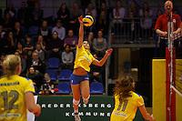 Volleyball Final 4  2015<br /> Brøndby - Holte<br /> Frederiksberg Hallerne<br /> <br /> Fotograf: Morten Olsen