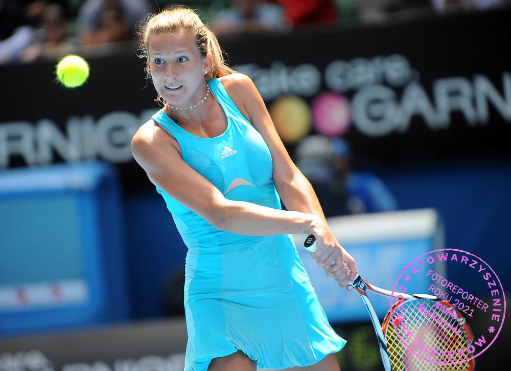 Melbourne Australian Open 2008 20/01/2008.Marta Domachowska (POL) loses fourth round match.Photo Roger Parker Fotosports International