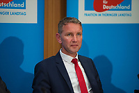DEU, Deutschland, Germany, Berlin, 04.06.2018: Thüringens AfD-Chef Björn Höcke, Pressekonferenz der Partei Alternative für Deutschland (AfD) zur Vorstellung des Rentenkonzepts der AfD-Fraktion im Thüringer Landtag.