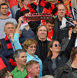 Football: Germany, 1. Bundesliga, SC Freiburg - FC Bayern Muenchen, Freiburg - 16.05.2015,<br /> Guenter Netzer (M)<br /> <br /> &copy; pixathlon<br /> <br /> +++ NED out !!! +++