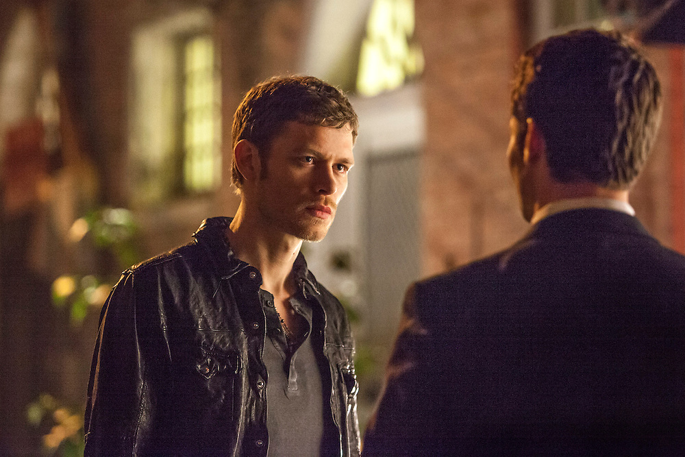 "Joseph Morgan as Klaus and Daniel Gillies as Elijah in the The Vampire Diaries spinoff ""The Originals"""
