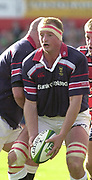"Photo Peter Spurrier.12/10/2002.Heineken European Cup Rugby.Gloucester vs Munster - Kingsholm.Mick O""Driscoll"