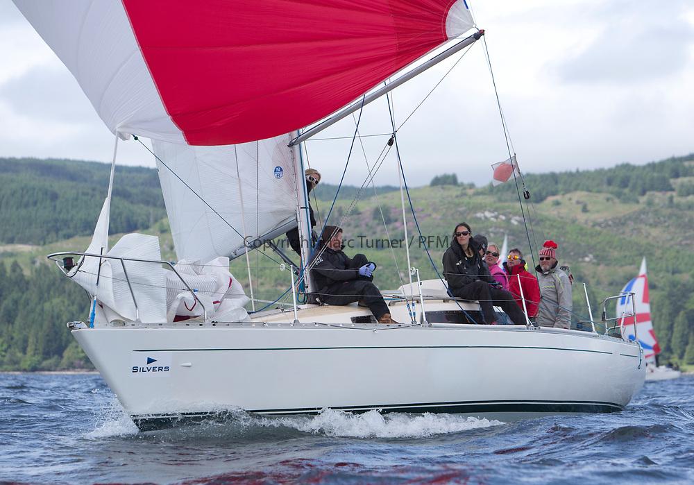 Silvers Marine Scottish Series 2017<br /> Tarbert Loch Fyne - Sailing Day 3<br /> <br /> K4294, Odyssey II, Harold Hood, RNCYC