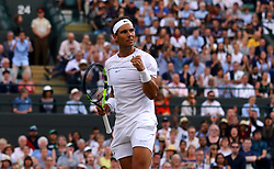 File photo dated 10-07-2017 of Rafael Nadal