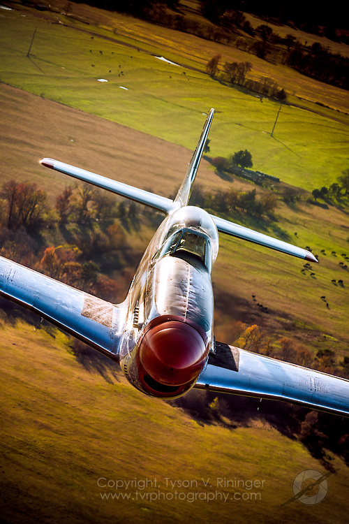"""P-51D Mustang 44-74445 N4132A """"Pecos Bill"""" owned and flown by Cowden Ward"""