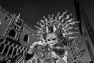 Italy. Venice Carnival on San Marco square.  / le Carnaval de Venise sur la place San Marco