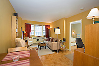 Living Room at 245 East 35th Street