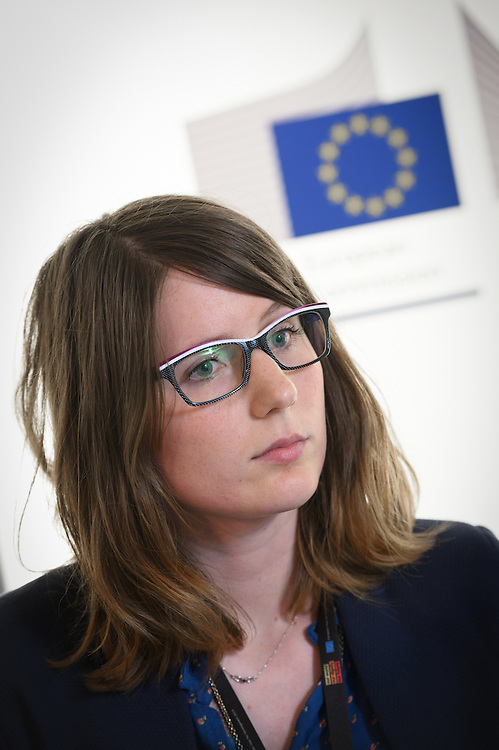 03 June 2015 - Belgium - Brussels - European Development Days - EDD - Health - Bekou - Restoring basic health services in the Central African Republic after the crisis - Marion Excoffier , EU Policy Advisor, AFD Brussels © European Union