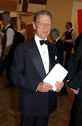 Actor EDWARD FOX at the Royal Academy dinner before the official opening of the Summer Exhibition held at the Royal Academy of Art, Burlington House, Piccadilly, London W1 on 1st June 2005.<br /><br />NON EXCLUSIVE - WORLD RIGHTS