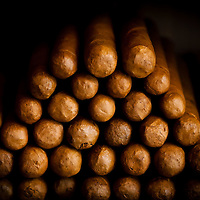 TAMPA, FL -- July 2012 -- Handmade cigars are rolled at Nicahabana Cigars in Ybor City. (PHOTO /CHIP LITHERLAND)