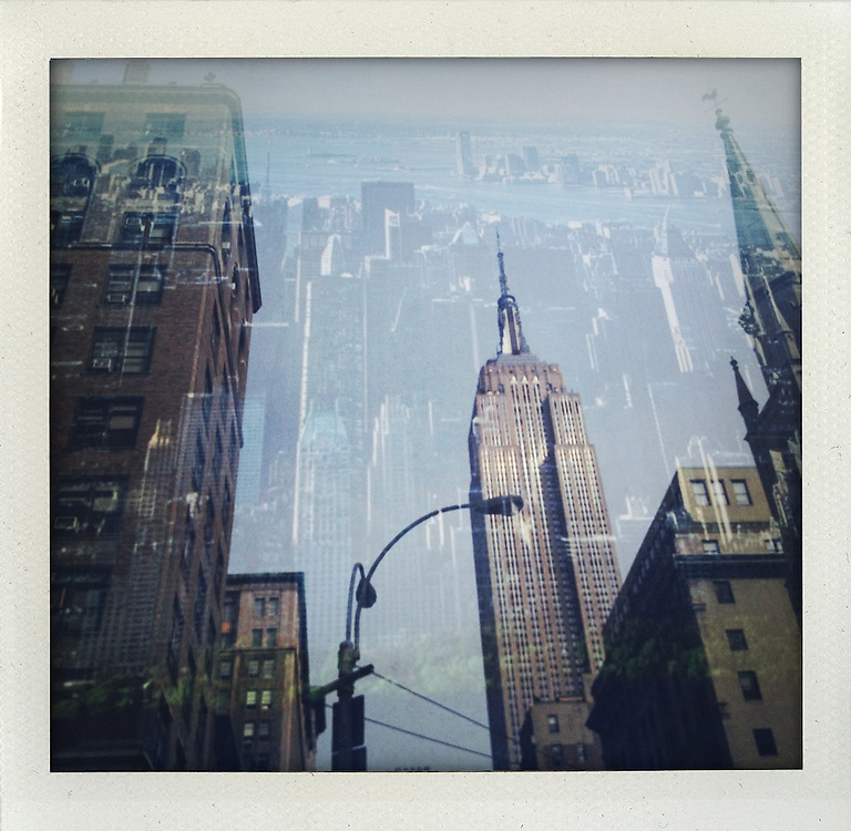 Empire State Building, New York..From the series Fake Polaroids.http://www.stefanfalke.com/.©Stefan Falke