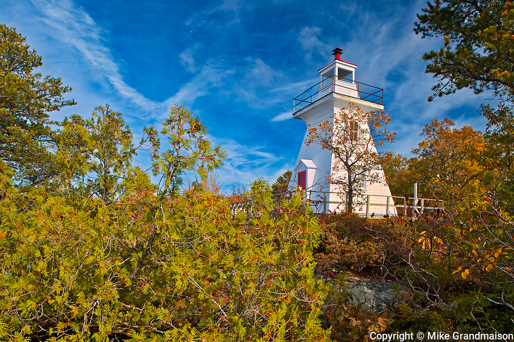 Lighthouse on Lake of the Woods<br />