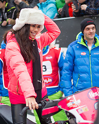 07.12.2014, Saalbach Hinterglemm, AUT, Snow Mobile, im Bild Fernanda Brandao // during the Snow Mobile Event at Saalbach Hinterglemm, Austria on 2014/12/07. EXPA Pictures © 2014, PhotoCredit: EXPA/ JFK