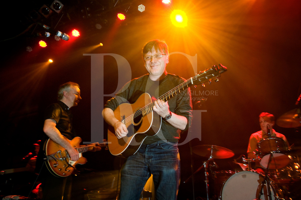 GLASGOW, UNITED KINGDOM - JUNE 02: Norman Blake of Teenage Fanclub performs on stage at O2 ABC on June 2, 2010 in Glasgow, Scotland. Photo by Ross Gilmore