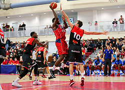 Leslee Smith of Bristol Flyers - Rogan Thomson/JMP - 05/11/2016 - BASKETBALL - SGS Wise Arena - Bristol, England - Bristol Flyers v Leicester Riders - BBL Championship.
