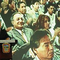 Toluca, Mex.- Enrique Peña Nieto, Gobernador del Estado de México, en la ceremonia del dia del maestro, entrego reconocimientos a maestros estatales y federales en su día. Agencia MVT / José Hernández. (DIGITAL)<br /> <br /> <br /> <br /> NO ARCHIVAR - NO ARCHIVE
