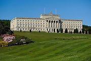The Stormont, North Ireland Parliament Palladian building.