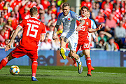 Slovakia midfielder Juraj Kucka shoots towards the goal during the UEFA European 2020 Qualifier match between Wales and Slovakia at the Cardiff City Stadium, Cardiff, Wales on 24 March 2019.