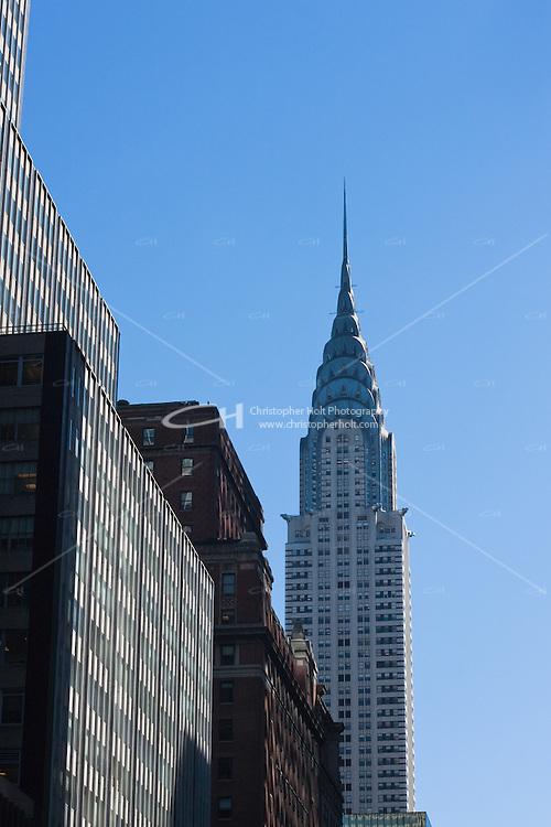 chrysler building in New york City in October 2008