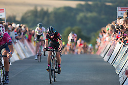Trixi Worrack (GER) of CANYON//SRAM Racing digs deep in the final meters of Stage 2 of the Lotto Thuringen Ladies Tour - a 102.9 km road race, starting and finishing in Dortendorf on July 14, 2017, in Thuringen, Germany. (Photo by Balint Hamvas/Velofocus.com)