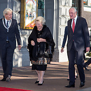 NLD/Amsterdam/20150926 - Afsluiting viering 200 jaar Koninkrijk der Nederlanden, aankomst prinses Beatrix