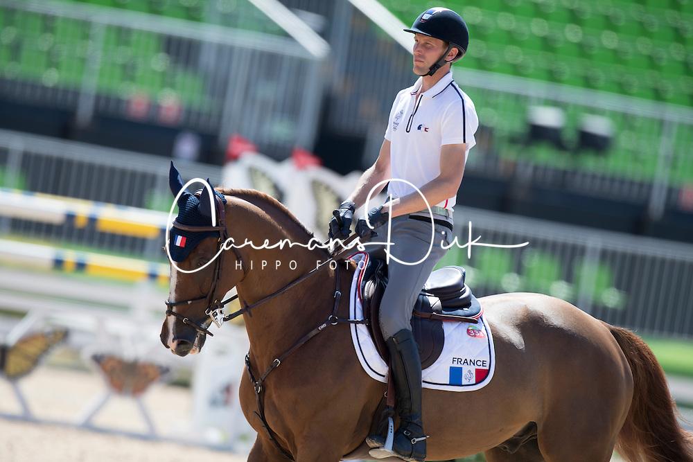 Staut Kevin, FRA, Reveur de Hurtebise HDC<br /> Training session<br /> Olympic Games Rio 2016<br /> &copy; Hippo Foto - Dirk Caremans<br /> 13/08/16