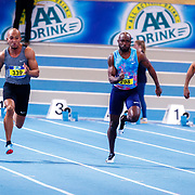 NLD/Apeldoorn/20180217 - NK Indoor Athletiek 2018, Hensley Paulina, Churandy Martina en Christopher Garia