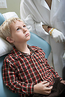 Boy at Dentist's Office