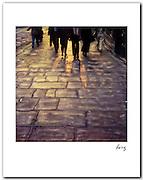 Rue Rivoli, Paris 1991.11x14 signed archival pigment print. Free shipping USA