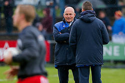 Bristol Rugby Director of Rugby Andy Robinson looks on during the warmup - Mandatory byline: Rogan Thomson/JMP - 18/05/2016 - RUGBY UNION - Castle Park - Doncaster, England - Doncaster Knights v Bristol Rugby - Greene King IPA Championship Play Off FINAL 1st Leg.