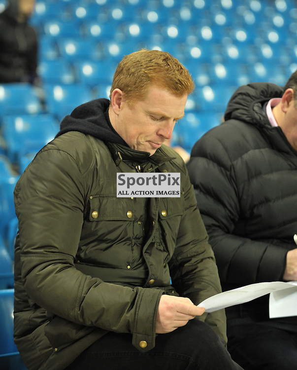Neil Lennon was at the game<br /> <br /> Manchester City v Dynamo Kiev, UEFA Champions League, Tuesday 15th March 2016<br /> <br /> (c) Alex Todd | SportPix.org.uk