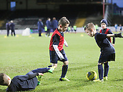 Dundee FC 6 to 8 year olds paly on the Dens pitch at half time - Dundee v St Mirren, SPFL Premiership at <br /> Dens Park<br /> <br />  - &copy; David Young - www.davidyoungphoto.co.uk - email: davidyoungphoto@gmail.com