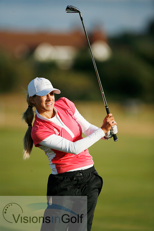 Belen Mozo<br /> Ricoh Womens British Open 2012<br /> Picture Credit: Mark Newcombe  / www.visionsingolf.com