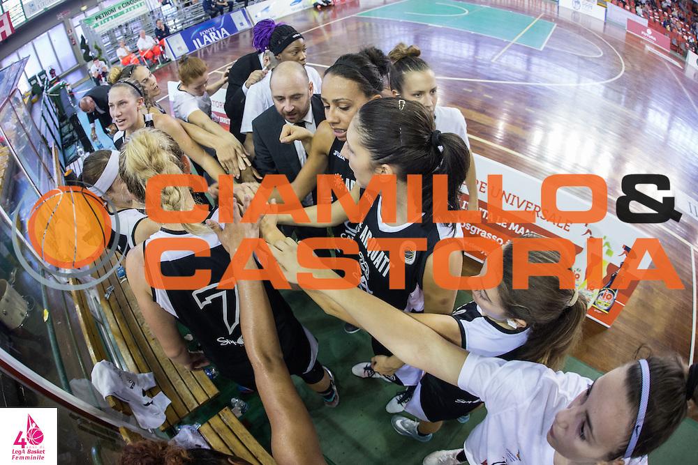 Marco Corsolini <br /> Carispezia La Spezia Passalacqua Ragusa<br /> LegA Basket Femminile 2016/2017<br /> Lucca, 02/10/2016<br /> Foto Elio Castoria/Ciamillo-Castoria