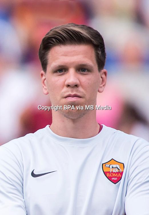 Italian League Serie A -2015-2016 / <br /> ( AS Roma ) - <br /> Wojciech Szczesny